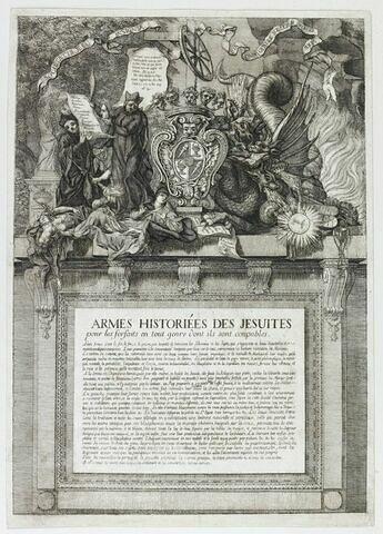 Armes historiées des jésuites