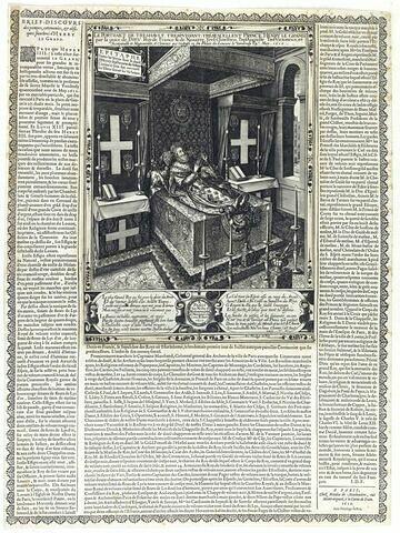 Henri IV sur son lit de mort