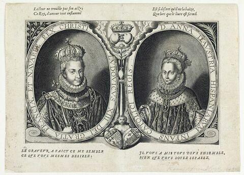 Louis XIII et Anne d'Autriche