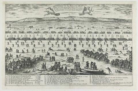 Entrée du Roy et de la Reyne dans Paris - 16 août 1660