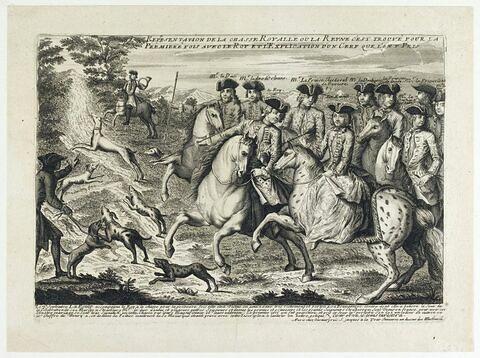 La chasse royale et la description du cerf de Henri II