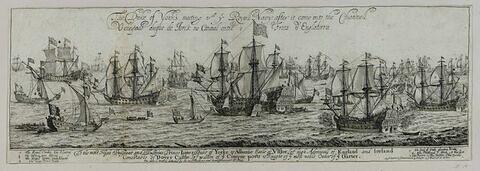 Voyage de Catherine de Portugal allant épouser Charles II, roi d'Angleterre