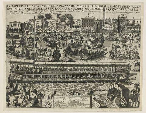 Le Bucentaure à Venise