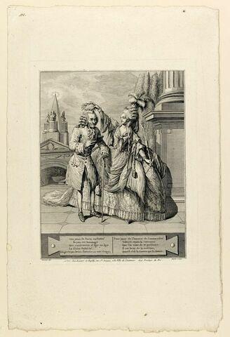 Voltaire couronné par Mlle Clairon