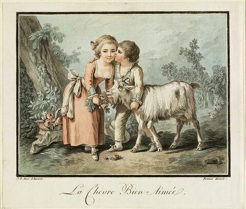 La chèvre bien aimée