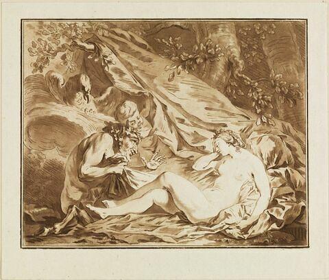 La Nymphe et le Satyre