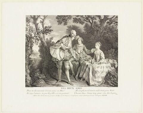 Les deux amis (pour le contes de Lafontaine)
