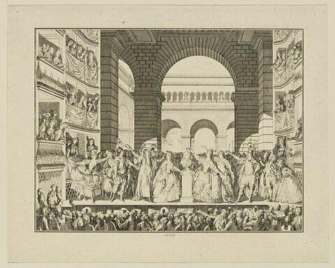 Couronnement de Voltaire