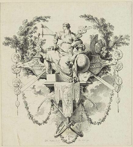 Cul de lampe pour le voyage pittoresque de la Grèce, par le comte Choiseul-Gouffier