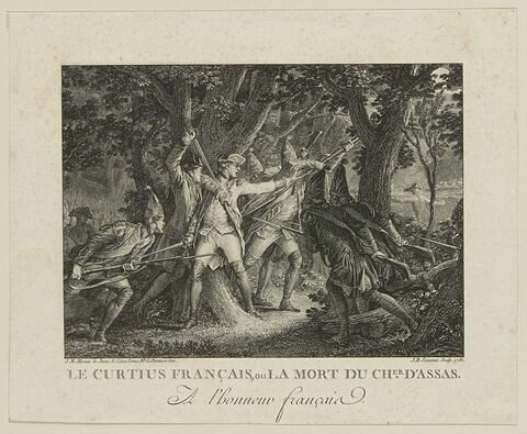 La mort du chevalier d'Assas