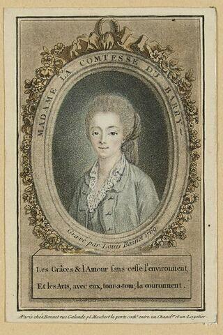 Portrait de Mme la Comtesse du Barry