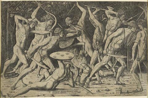 Hercule combattant les géants