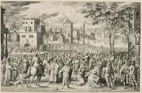 Pilate montrant Jésus au peuple