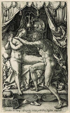 Lucrèce abusée par Sextus