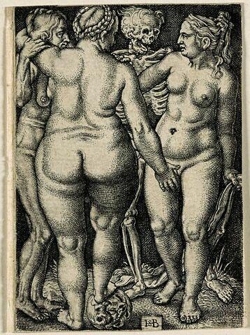 La mort et les trois sorcières
