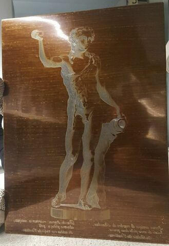 Bacchus tenant une coupe