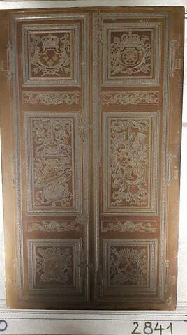 Porte dans le grand appartement des Tuileries