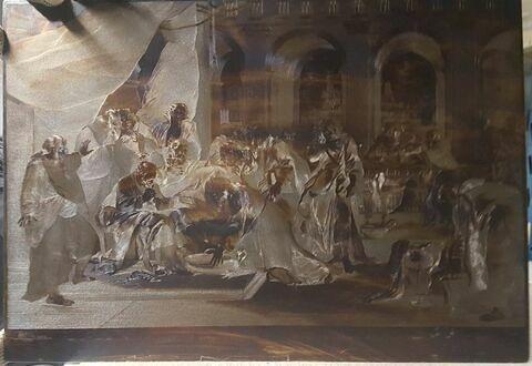 Jésus-Christ lavant les pieds des Apôtres