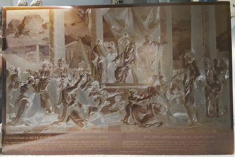 Ptolémée Philadelphe donnant la liberté aux Juifs.