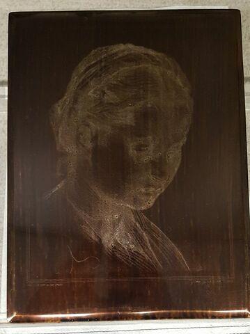 Portrait de Lucrezia Fede, femme du peintre