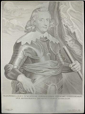 Autriche (cardinal-infant Ferdinand, archiduc) Gouverneur de Belgique et Bourgogne.