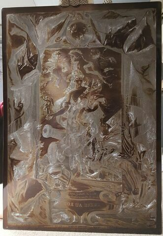 Marie de Médicis (1573-1642), avec les attributs de la Victoire