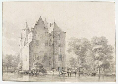 Le Château de Den Ham près de Vleuten, Utrecht
