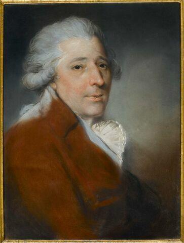 Portrait de Francesco Bartolozzi (1727-1815).