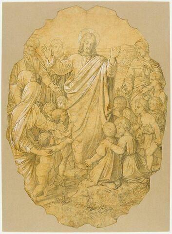 Le Christ et les petits enfants