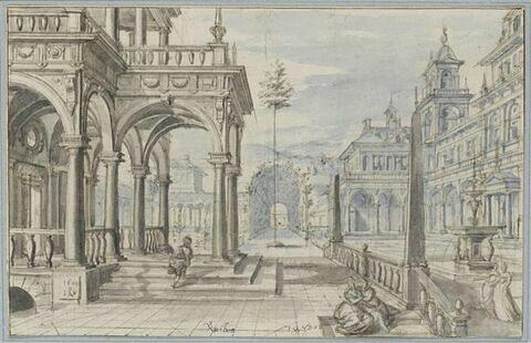 Cour intérieure de palais