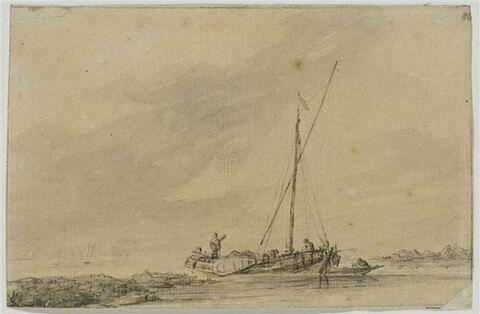 Bateau de pêcheurs au port