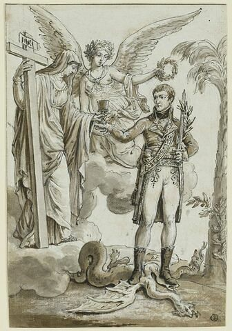 Le culte catholique rendu au peuple français par le Ier Consul Bonaparte