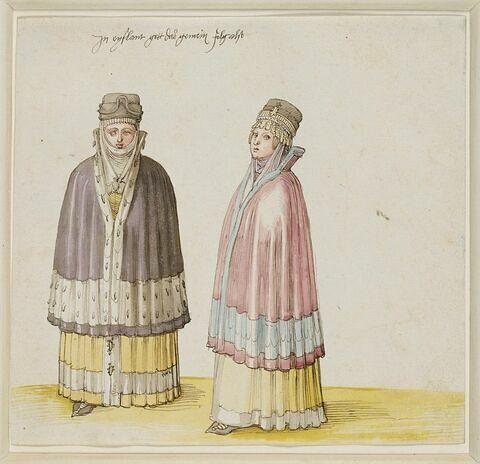 Deux femmes livoniennes