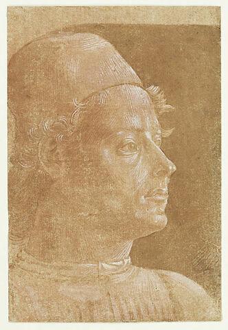 Portrait d'homme avec béret