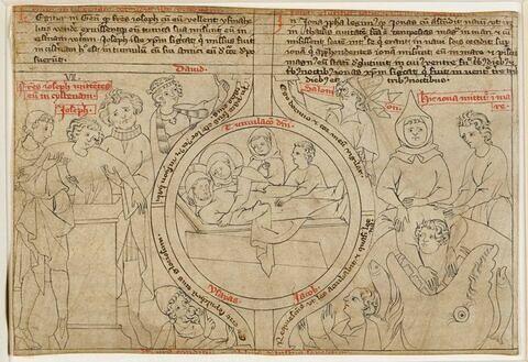 Joseph jeté dans le puits; Mise au tombeau; Jonas jeté dans la mer et avalé par une baleine