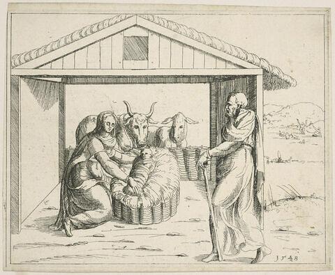 Histoires de l'Ancien et du Nouveau Testament. La Nativité