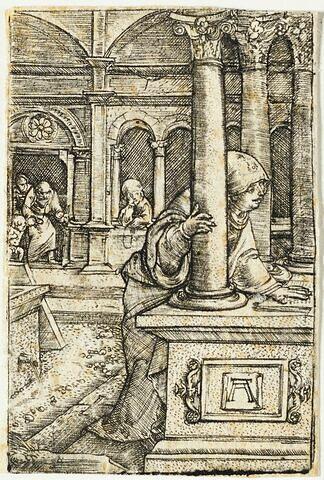 La Vierge cherchant l'Enfant dans la synagogue