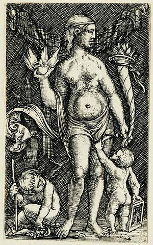 Vénus et les deux amours