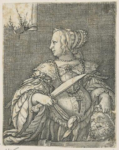 Judith de profil