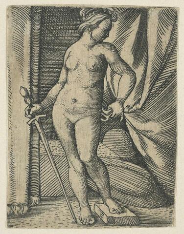 Judith debout