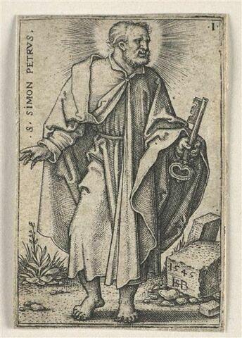 Série de douze apôtres : Saint Pierre