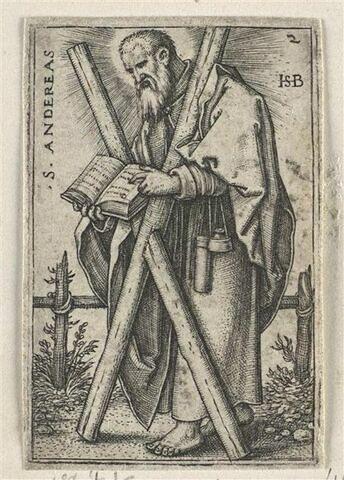 Série de douze apôtres : Saint André