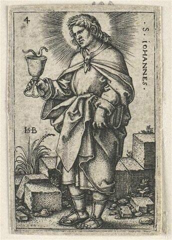 Série de douze apôtres : Saint Jean