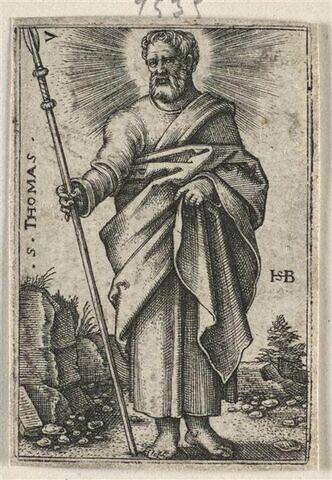 Série de douze apôtres : Saint Thomas