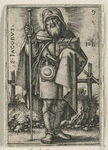 Série de douze apôtres : Saint Jacques