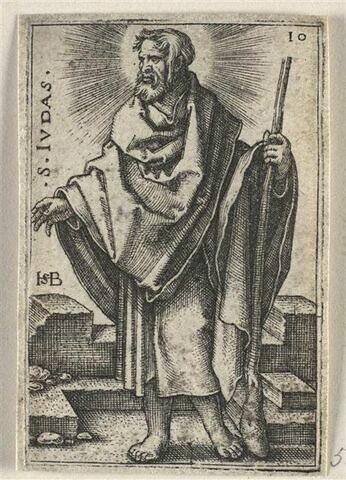 Série de douze apôtres : Saint Simon