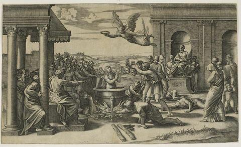 Le martyre de Sainte Félicité