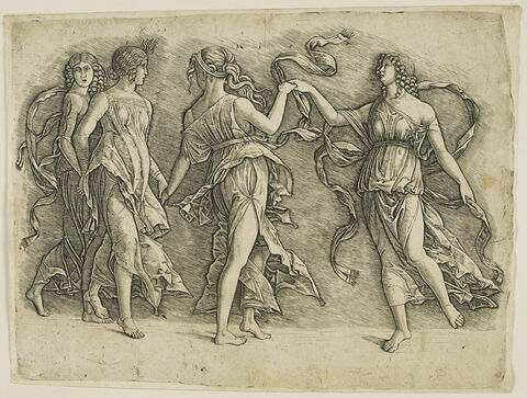 La danse de quatre femmes