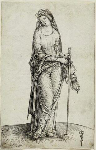 Judith avec la tête d'Holopherne