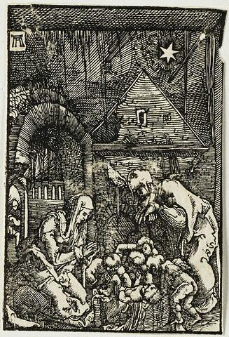 La Nativité  : Chute et Rédemption de l'Humanité, suite de quarante bois gravés